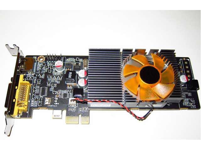 Low Profile Half Height 1GB HD PCI Express PCI-E x1 Video Graphics Card DVI+HDMI Shipping From US