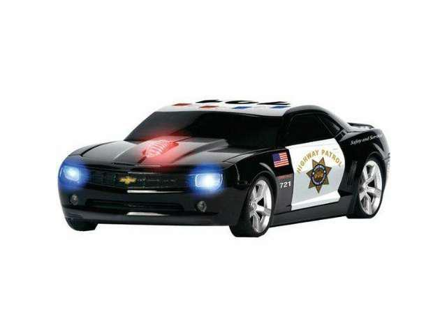 New Road Mice Concept Camaro Highway Patrol Wireless Optical Car Mouse HP-11CHCCUXH