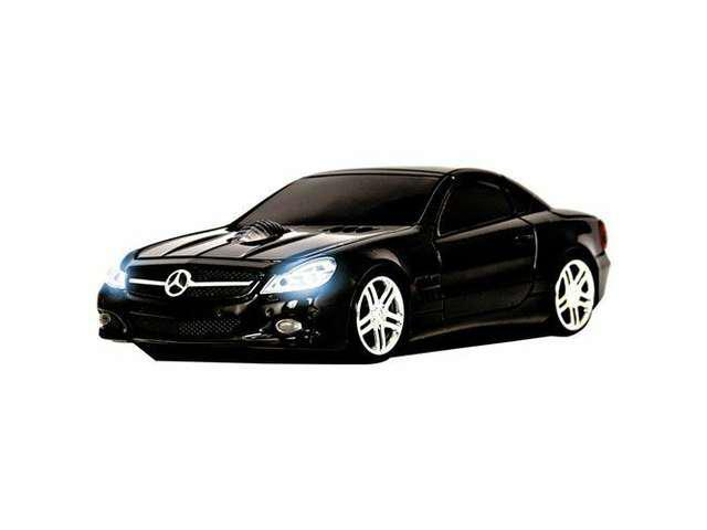 New Road Mice Mercedes Sl550 Series Car Mouse - Optical - Wireless - (hp11mbs5kxa)