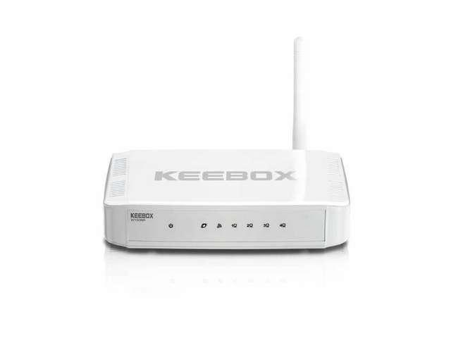 New KEEBOX W150NR N 150 Home Wireless-Router New White