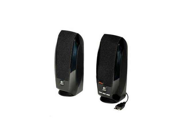 OEM Logitech S-150 Digital USB Speaker System Black