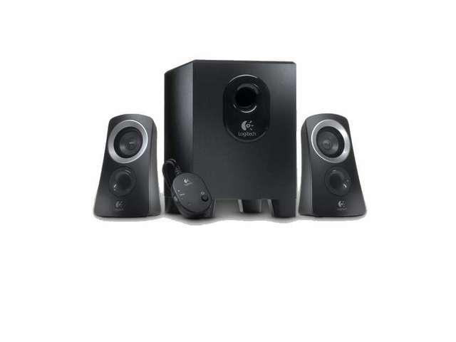 Logitech Z313 2.1 Speaker System Black New