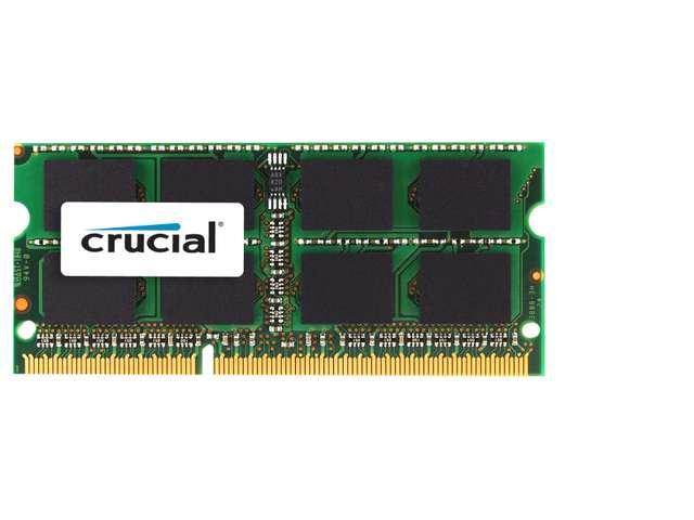 Crucial 8GB DDR3 1333 MHz PC3-10600 SODIMM 204-Pins 1.35V Laptop Memory For NoteBook shipping from US