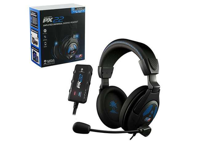 New Turtle Beach Ear Force PX22 PS3 Gaming Headset TBS-3230-01