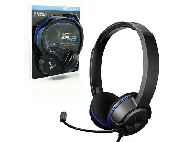 New Turtle Beach Ear Force PLa Gaming Headset for Playstation 3 TBS-3005-01