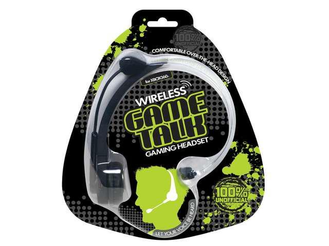 New Datel Wireless Game Talk Rechargeable Headset for Xbox Live Xbox 360 hot