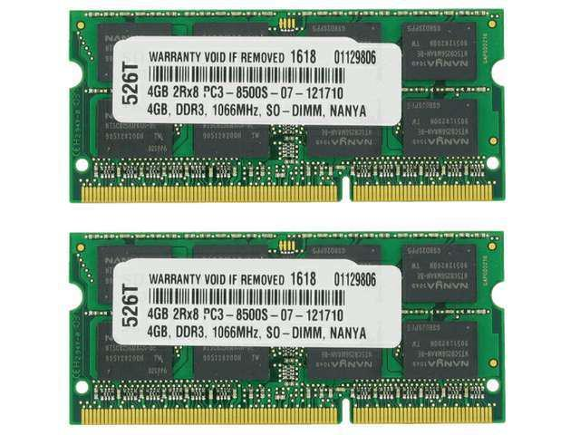 8GB (2X4GB) MEMORY FOR DELL STUDIO XPS 1640 XPS 1645 XPS 1647 Shipping From US