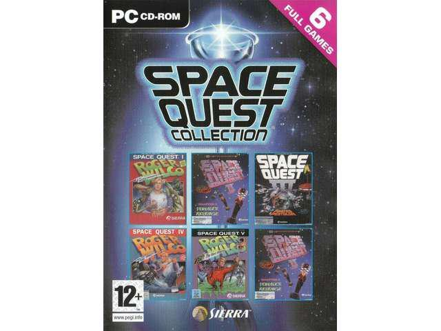 SPACE QUEST COLLECTION 6 Full Games for PC SEALED