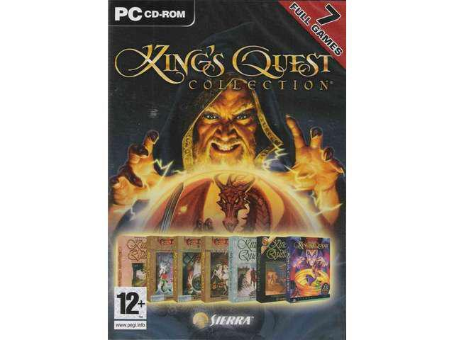 KING'S QUEST COLLECTION 7 Full Games for PC SEALED Shipping From US