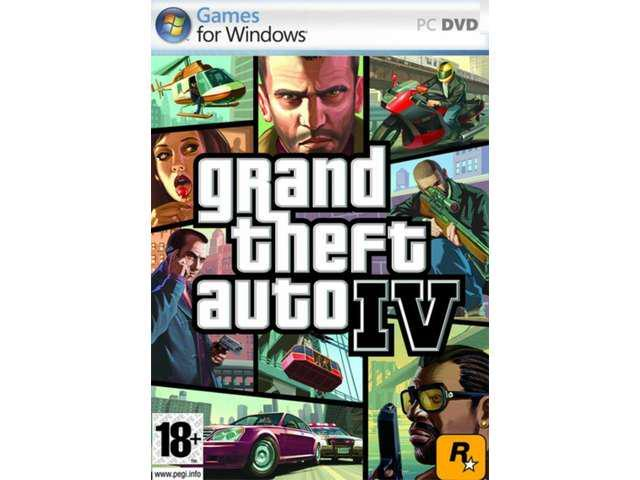 GRAND THEFT AUTO IV GTA 4 for PC FULL VERSION SEALED