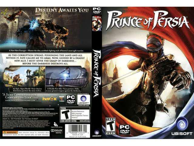 NEW! PRINCE OF PERSIA for PC SEALED