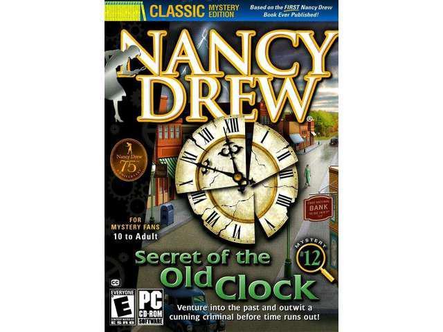 NANCY DREW SECRET OF THE OLD CLOCK for PC SEALED