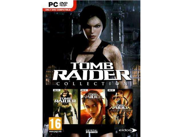 TOMB RAIDER UNDERWORLD + LEGEND and ANNIVERSARY COLLECTION (PC DVD-ROM)