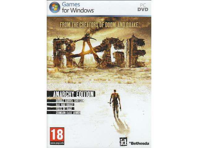 NEW! RAGE ANARCHY EDITION FOR PC/XP/VISTA/7 SEALED