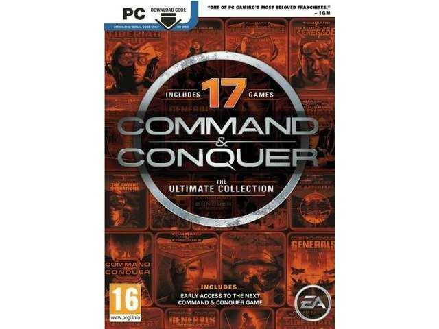 COMMAND & CONQUER THE ULTIMATE COLLECTION for PC SEALED