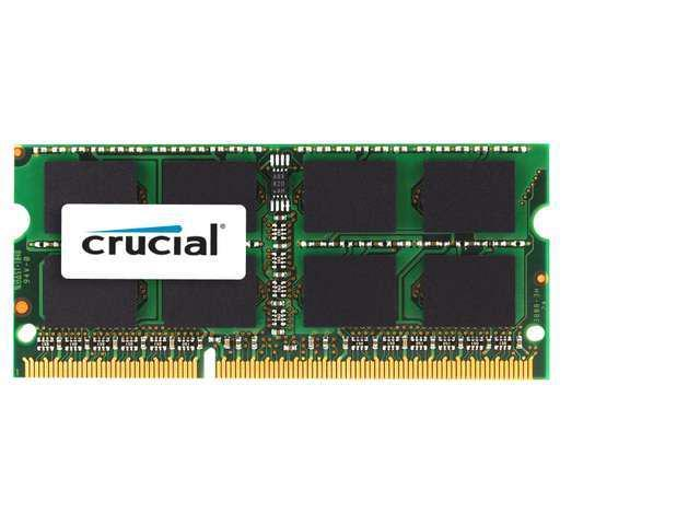 New Crucial 8GB DDR3 1333 MHz PC3-10600 SODIMM 204 pin Laptop Memory CT102464BF1339 shipping from US