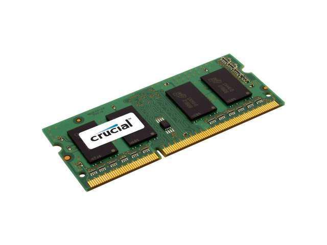 New Crucial 2GB DDR3 1333 MHz PC3-10600 CL9 1.35V Laptop RAM Sodimm Notebook Memory For Sale