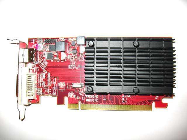 ATI HD 2GB PCI-E x16 Low Profile Dual Monitor Display View DVI+HDMI Video Graphics Card