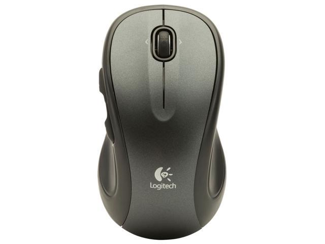 NEW Logitech M318e Lase Corded USB Mouse Black Programmable, Scroll & Tilt Wheel
