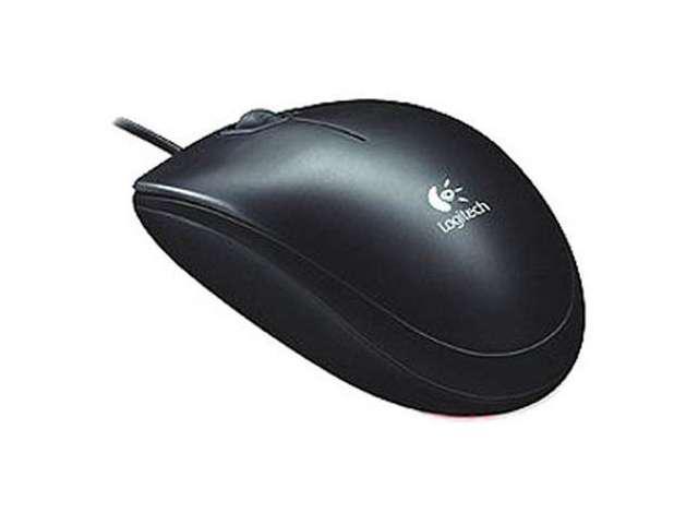 Logitech Mouse 910-001802 B120 USB Optical Combo Mouse 800dpi Black - NEW