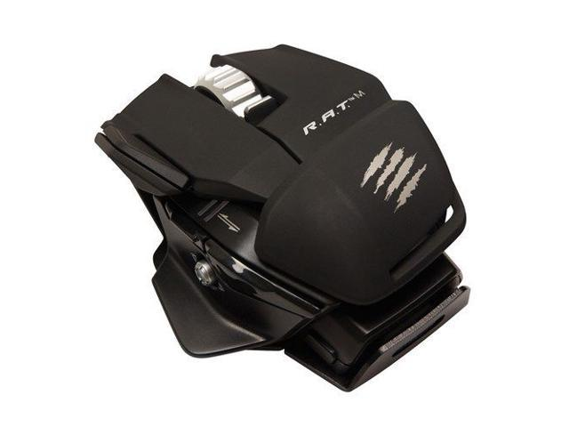 Mad Catz R.A.T. M Wireless Gaming Mouse for PC, Mac - Matte Black RAT M