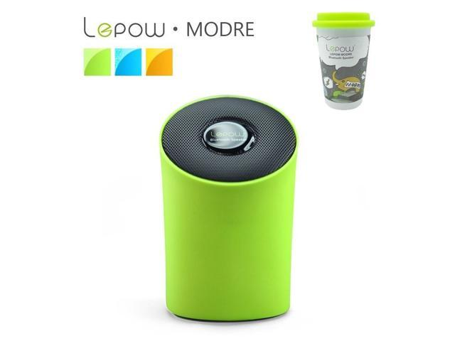 Lepow Modre Green Bluetooth Wireless Mini Portable Speaker for Phone/Tablet pc