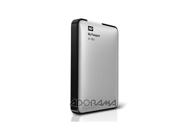 WD 500GB My Passport Portable Hard Drive for Mac, USB 2.0, Bus Powered