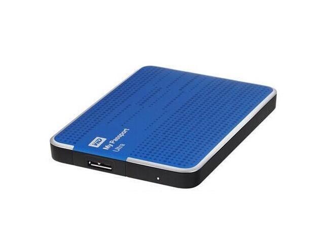 WD My Passport 2TB External Hard Drive, USB 3.0, Blue, Bus Powered