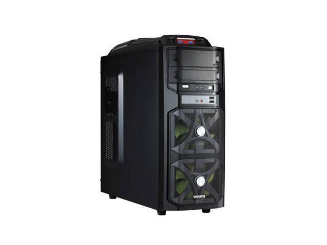 GIGABYTE GZ-G1 Plus GZ-G1SGS No Power Supply ATX Mid Tower Case (Black) -- Computer Case