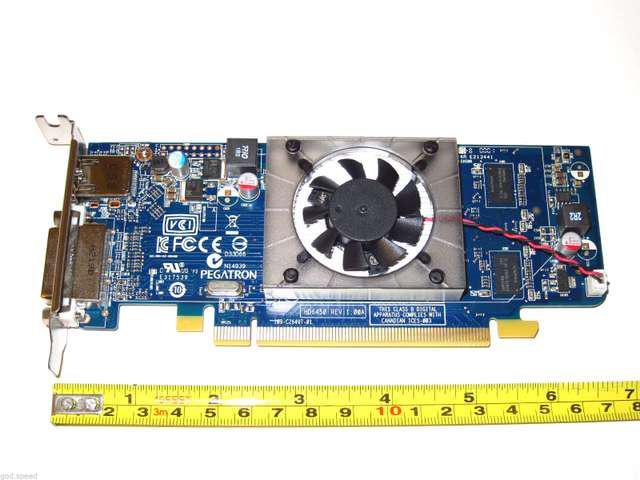 Hot New Low Profile Half Height AMD Radeon HD 1024MB 1GB PCI-E x16 Video Graphics Card