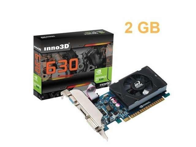New INNO3D NVIDIA Geforce GT 630 PCI Express Video Graphics Card HMDI 2GB 128 bit