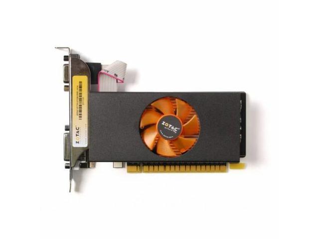 HOT New ZOTAC Video Card NVIDIA GeForce GT 730 2GB GDDR5 VGA-DVI-HDMI Low Profile pci-e