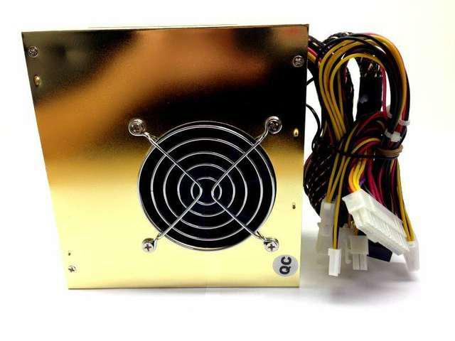 HOT 650W ATX Power Supply for Intel AMD PC Desktop Computer 2 Fan Gold