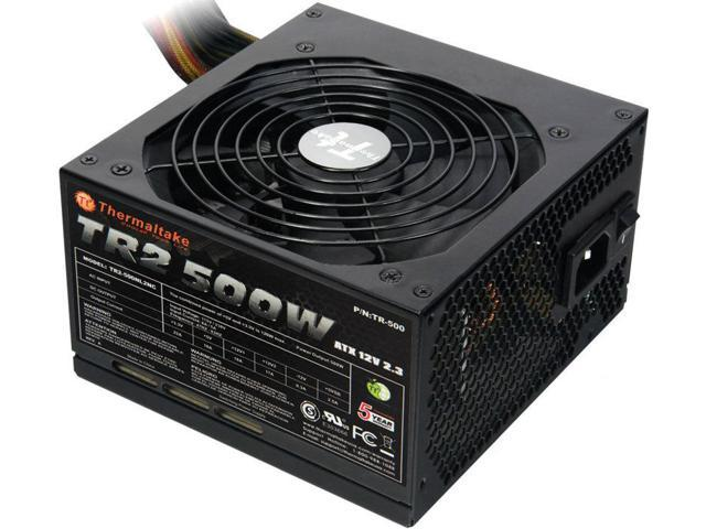 Thermaltake TR2 500W Power Supply for ATX with 8-Pin PCIe (TR-500)