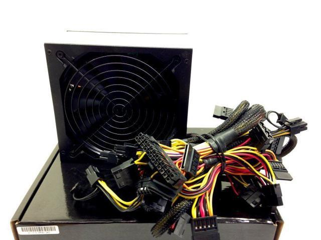 1050W Gaming 140MM Fan x 1 Silent ATX Power Supply SATA 12V for AMD Intel