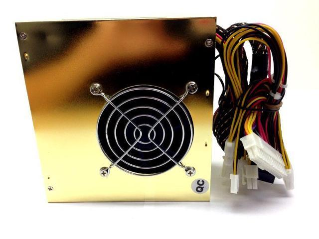 650 WATT 650W POWER SUPPLY for Intel AMD PC Desktop Computer NEW Dual Fan Gold