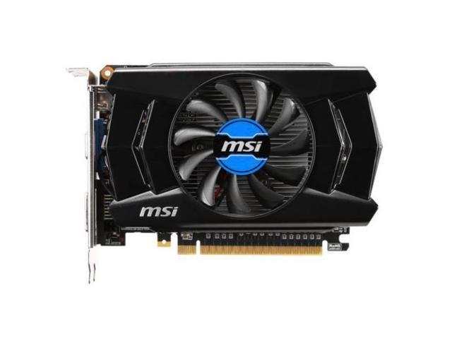 New MSI NVIDIA GeForce GT 740 2GB DDR3 VGA/DVI/HDMI PCI-Express Video Card