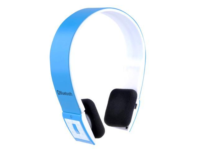 A2DP Bluetooth 2.1 + EDR Wireless Hands-free Stereo W/Mic Headset Headphone--Blue For iPhone6 5S 5C 5 4S 4
