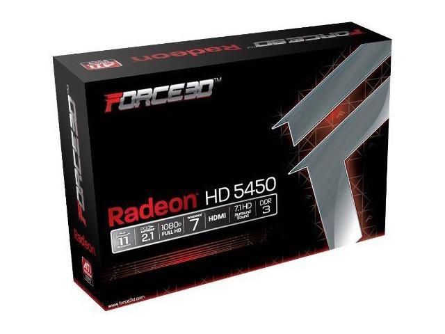 Force3D AMD ATI PCI Express 2.0 x16 1GB HDMi DVI VGA Video Graphics Card Shipping From US