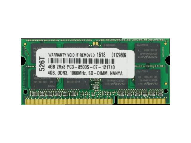 4GB PC3-8500 1066MHz MEMORY FOR DELL PRECISION M6400 Shipping From US