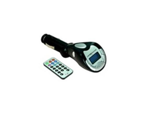 SD/MMC/USB/MP3 Wireless LCD Car Mp3 Player Car FM Transmitter with remote controller Audio Cable