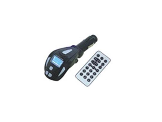 SD/MMC/USB/MP3 Wireless LCD Car Mp3 Player Car FM Transmitter with remote controller +Audio Cable