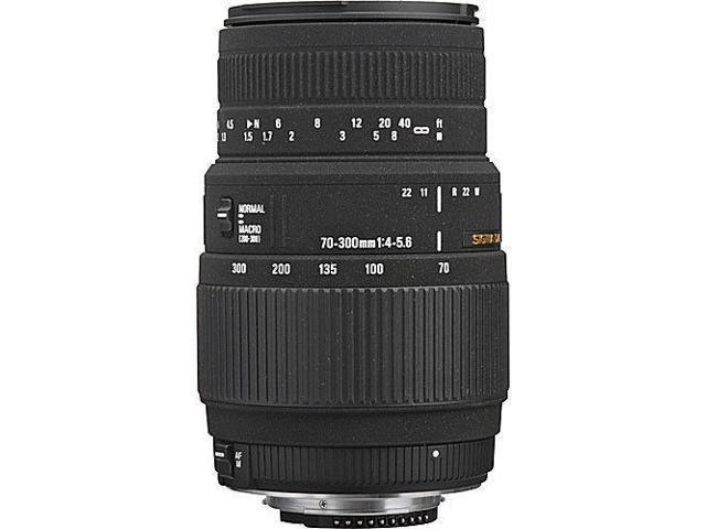 Sigma 70-300mm f/4-5.6 DG Macro Autofocus Lens for Nikon D40 D60 D90 D3000 D7000