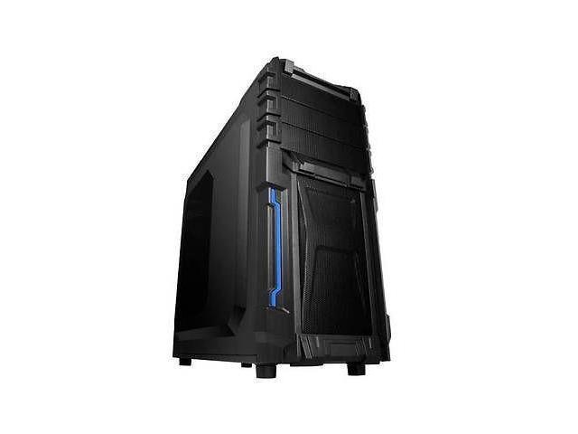 New Raidmax Vortex ATX-402WB No Power Supply ATX Mid Tower Gaming Case (Black) -- Computer Case