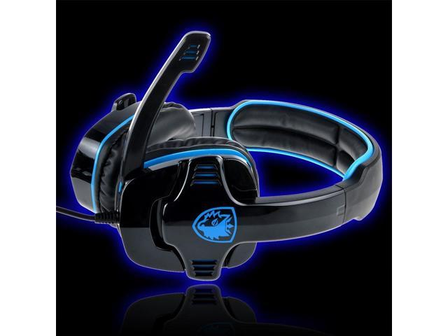 SADES SA-708 Head-band Wired PC Gaming Stereo Headphone Headset With Microphone hot