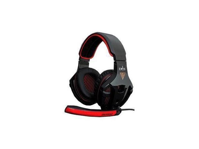 GAMDIAS Eros GHS2200 3.5mm Gaming Headset, Smart In-Line Remote, Rotating Microphone Boom