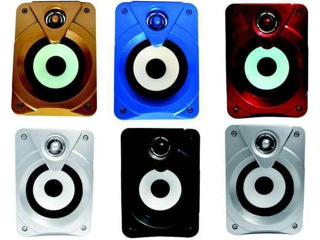 AC Bacifire 2.0 multimedia speakers for PC/MP3/MP4/Mobile Blue,Red,White,Bronzer,Silver,Black