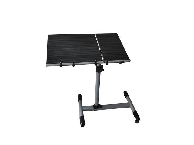 New Portable Notebook Laptop Rolling N-ew Table Cart TV Stand Tiltable Tabletop Desk Stand