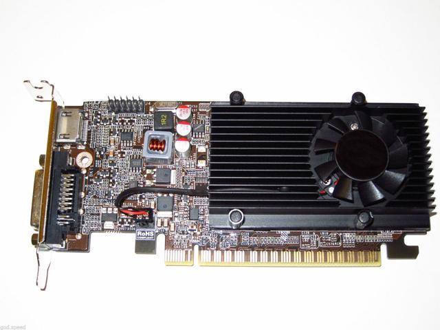 nVIDIA GeForce 1GB Low Profile Half Height PCI-E x16 Gaming Video Graphics Card shipping from US