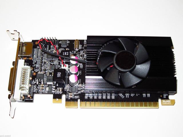 NVIDIA GeForce GT 610 2GB PCI-E x16 Low Profile Half Height Video Graphics Card shipping from US